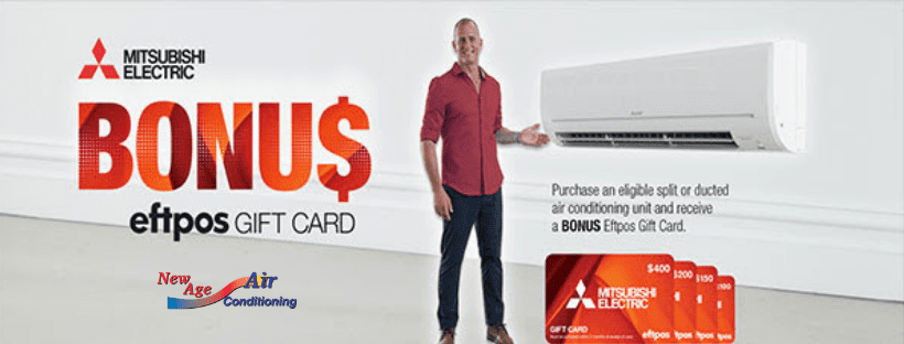 2019 Winter Eftpos Gift Card Air conditioning
