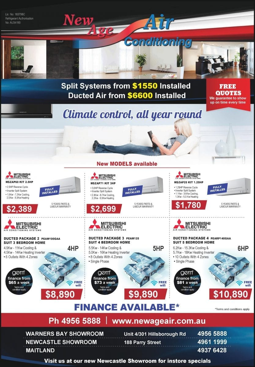 Special Offers | NewAge Air
